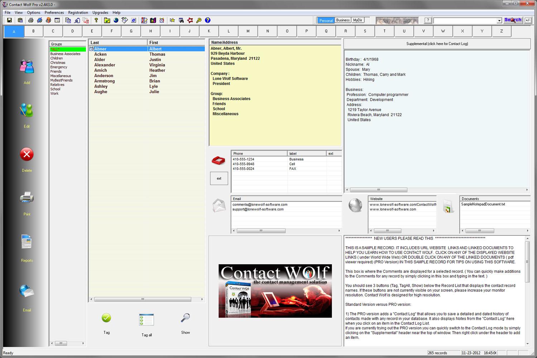 address manager software