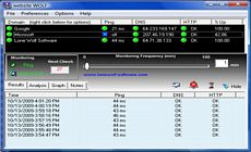 Website Wolf Web Site Monitoring Software Screen Shot
