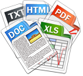 multiple document oganization icon