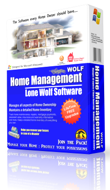 Home Management & Inventory Software Box Image