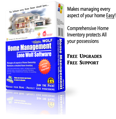 Home Management Inventory Software Product Box Image